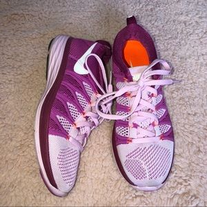 Lavender & Purple Nike Running Shoes